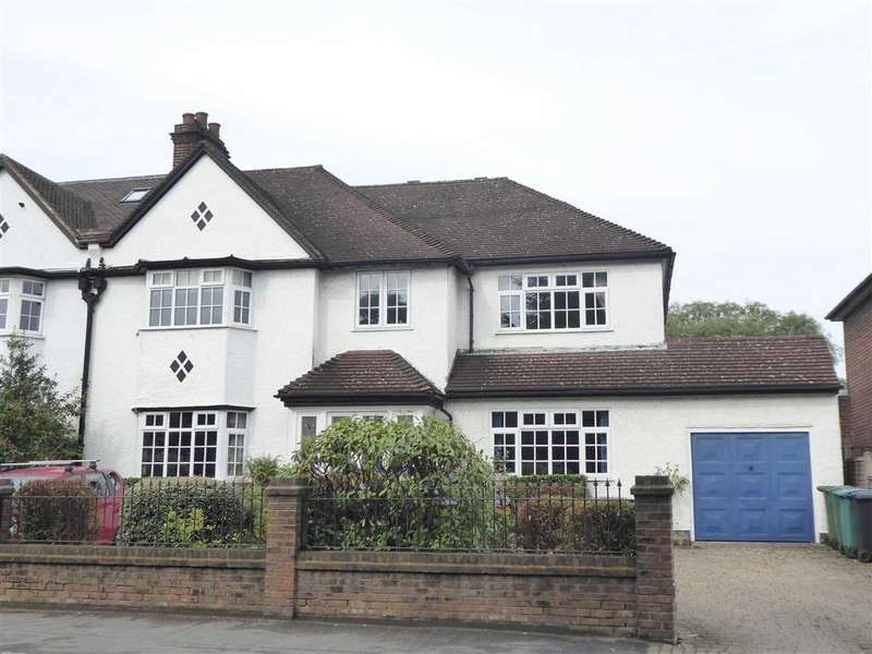 5 Bedrooms Semi Detached House for sale in Pinner Road, Oxhey Village, Watford, WD19