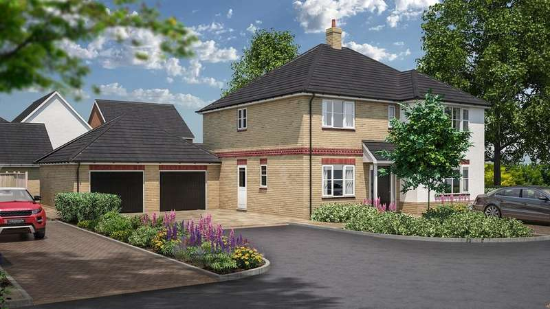 5 Bedrooms Detached House for sale in Rook Tree Fields, Stotfold, Hitchin, SG5