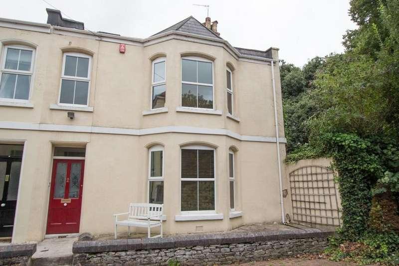 4 Bedrooms Semi Detached House for sale in Valletort Cottages, Stoke