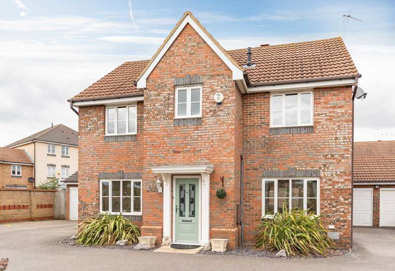 4 Bedrooms Detached House for sale in Parkminster, Monkston
