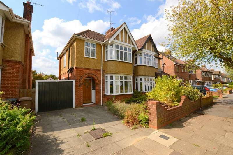 3 Bedrooms Semi Detached House for sale in Wychwood Avenue, Old Bedford Road Area, Luton, LU2 7HT