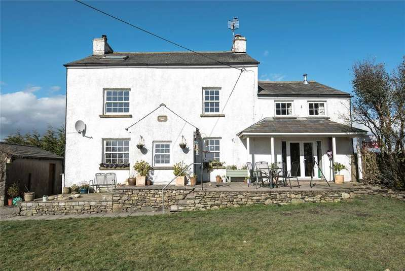 4 Bedrooms Detached House for sale in Ellenwray Farmhouse, Popplemire Lane, Old Hutton, Kendal