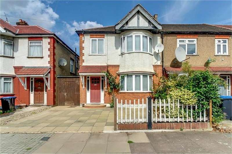 3 Bedrooms End Of Terrace House for sale in St Raphaels Way, London, NW10
