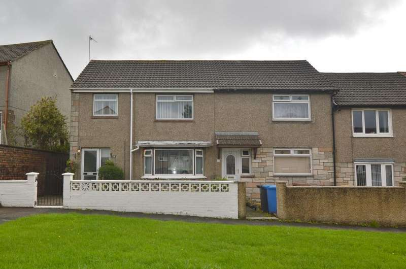 3 Bedrooms End Of Terrace House for sale in 19 Shaw Place, SALTCOATS, KA21 6LQ