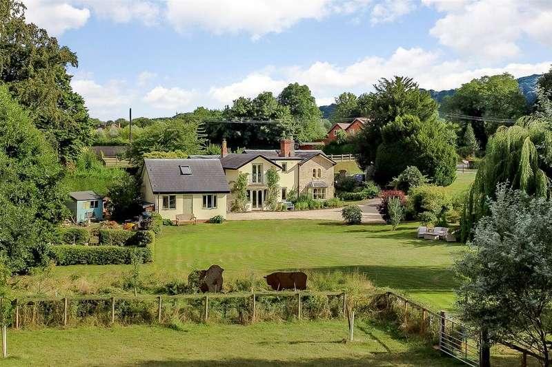 5 Bedrooms Detached House for sale in Bricklehampton, Pershore, Worcestershire