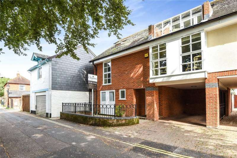 4 Bedrooms Semi Detached House for sale in Abbey Mews, Church Road, Romsey, Hampshire, SO51