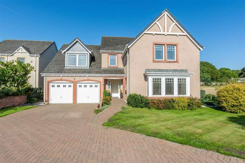 5 Bedrooms Detached House for sale in Hawthorndean Place, Inchture, Perthshire