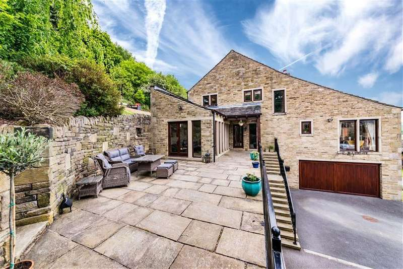 5 Bedrooms Detached House for sale in Mission View, Arrunden, Holmfirth, HD9