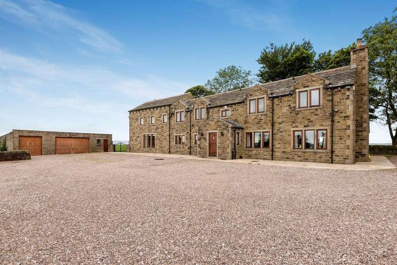 5 Bedrooms Detached House for sale in Keighley WEST YORKSHIRE