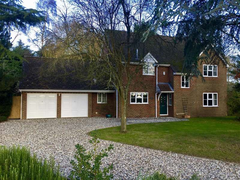 4 Bedrooms Detached House for sale in Churchlands,, Silchester Road,, Bramley, Tadley.