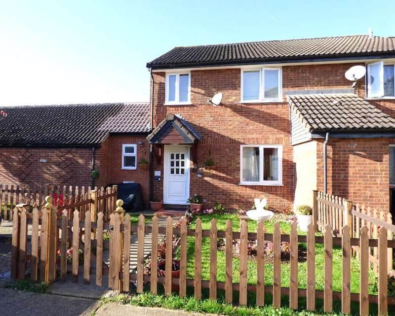 3 Bedrooms End Of Terrace House for sale in Honeysuckle Way, Bedford, Bedfordshire, MK41 0TE