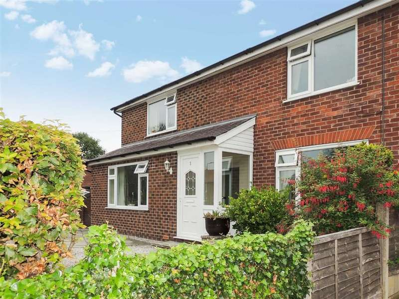 3 Bedrooms Semi Detached House for sale in Woodfield Crescent, Romiley, Stockport