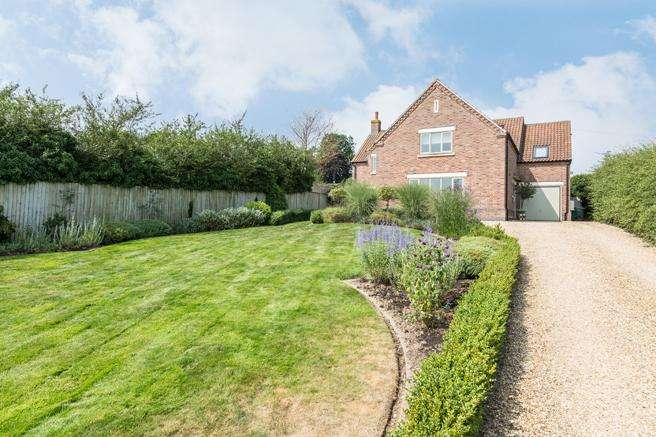 5 Bedrooms Detached House for sale in Hill View House, Melton Road, Upper Broughton, Leicestershire LE14 3BG