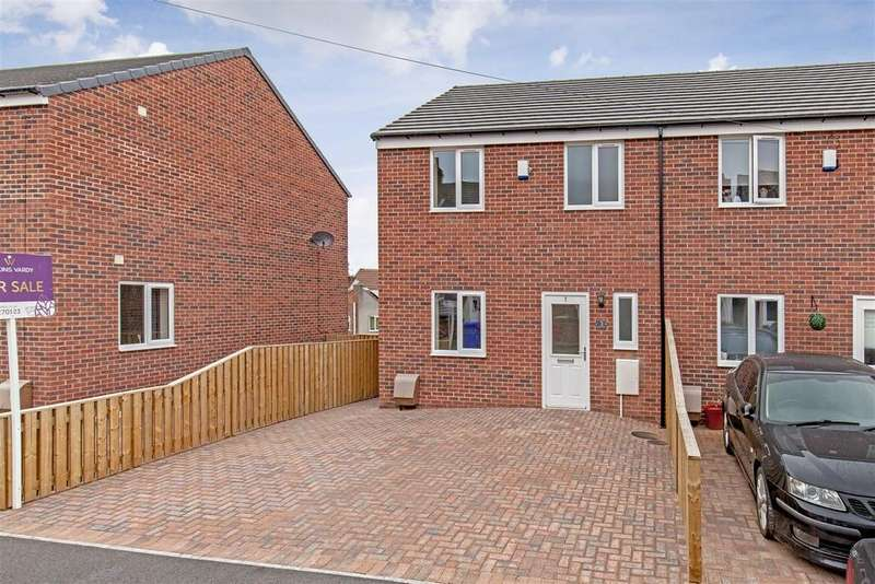 3 Bedrooms Semi Detached House for sale in Heywood Street, Brimington, Chesterfield