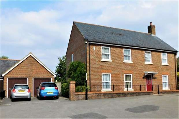 4 Bedrooms Detached House for sale in Ashbrook Walk, Lytchett Matravers, Poole, BH16
