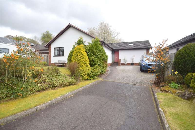 3 Bedrooms Detached Bungalow for sale in Queensberry Beeches, Thornhill, Dumfries and Galloway, DG3