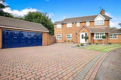 4 Bedrooms Detached House for sale in Sanbec Gardens, Cronton, Widnes, Cheshire, WA8