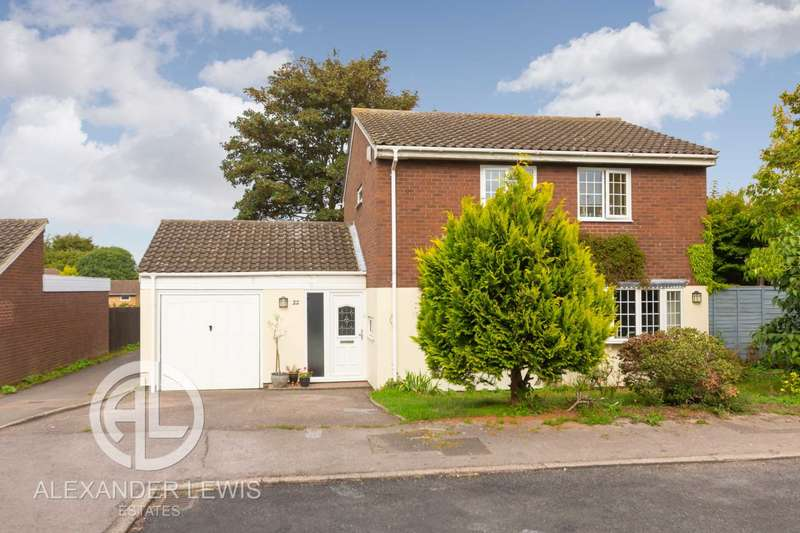 4 Bedrooms Detached House for sale in Blackmore, Letchworth Garden City, SG6 2SY