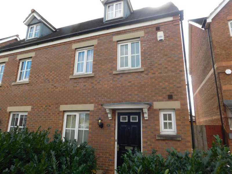 4 Bedrooms Semi Detached House for sale in Kennett Drive, Bredbury, Stockport