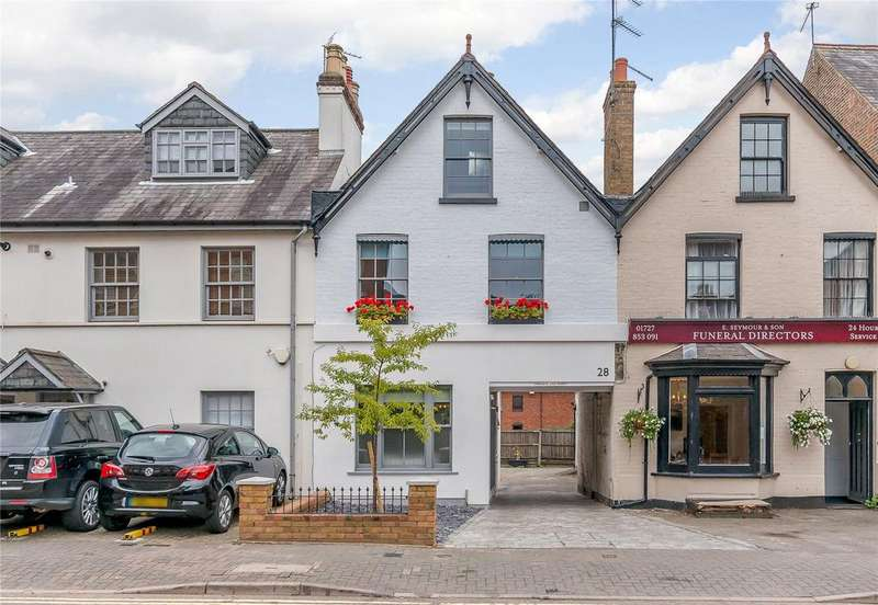 4 Bedrooms Terraced House for sale in Marlborough Road, St. Albans, Hertfordshire