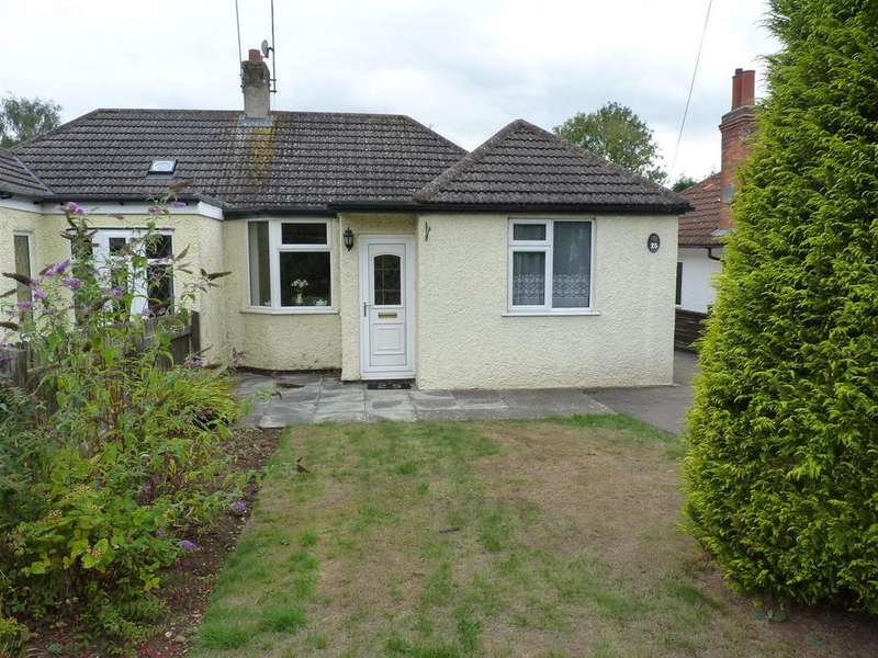 2 Bedrooms Semi Detached Bungalow for sale in Harborough Road, Kibworth Harcourt