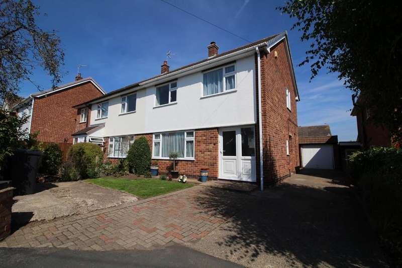 3 Bedrooms Semi Detached House for sale in Ringwood Road, Shepshed