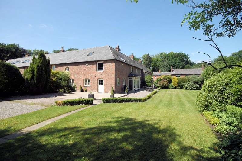 4 Bedrooms Barn Conversion Character Property for sale in Home Farm Barns, Chester Road, Mere