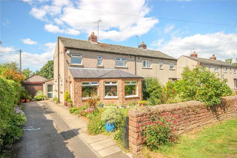3 Bedrooms Semi Detached House for sale in 4 Henley Close, Catterlen, Penrith, Cumbria