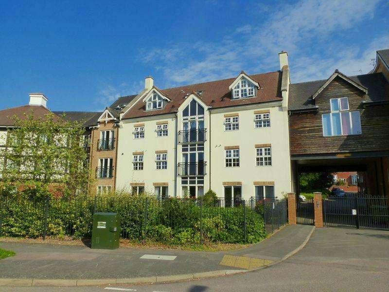 2 Bedrooms Apartment Flat for sale in Honeywell Close, Oadby