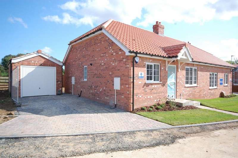 2 Bedrooms Semi Detached Bungalow for sale in New Bungalow, The Folds, Legbourne, LN11 8LG