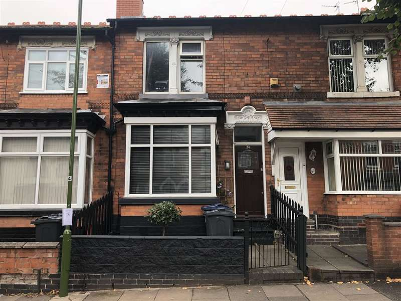 3 Bedrooms Terraced House for sale in Geraldine Road, Yardley, Birmingham