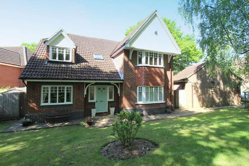 4 Bedrooms Detached House for sale in Mere Gardens, Rushmere St. Andrew, IP4 5HU