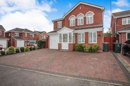 4 Bedrooms Detached House for sale in Ansell Drive, Longford, Coventry, West Midlands