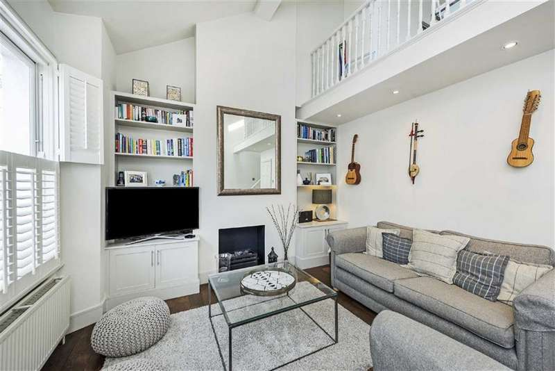 2 Bedrooms Flat for sale in Broughton Road, Fulham, SW6