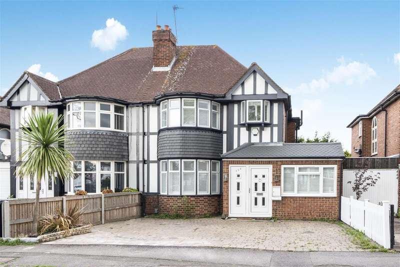 4 Bedrooms Semi Detached House for sale in Kingston Road, Epsom