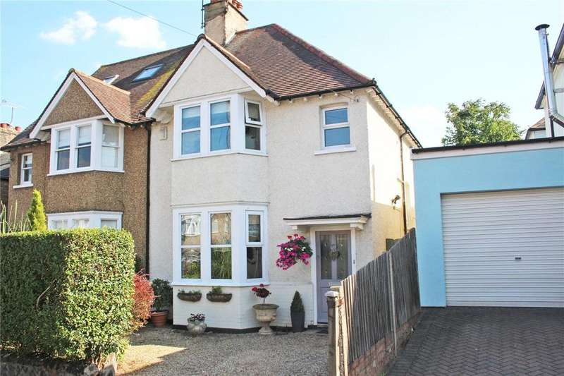 4 Bedrooms Semi Detached House for sale in Hertford Road, Hoddesdon, Hertfordshire