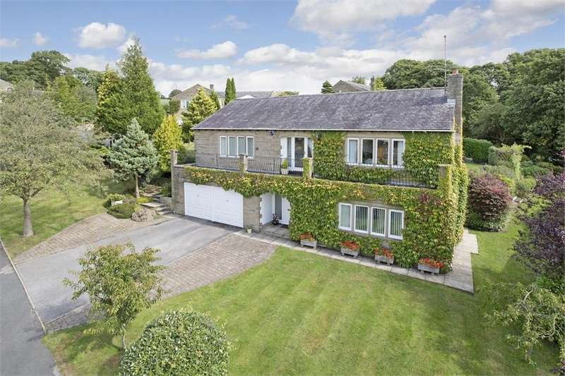 4 Bedrooms Detached House for sale in Heatherview, 32 Gill Bank Road, Middleton, ILKLEY, West Yorkshire