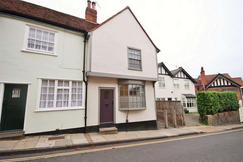 3 Bedrooms End Of Terrace House for sale in West Stockwell Street, Dutch Quarter, Colchester, Essex
