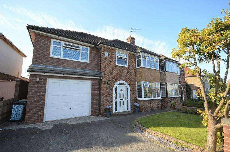 5 Bedrooms Semi Detached House for sale in Appleton Drive, Greasby