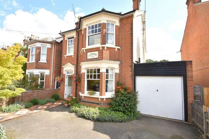 5 Bedrooms Detached House for sale in Corder Road, Ipswich, IP4 2XD