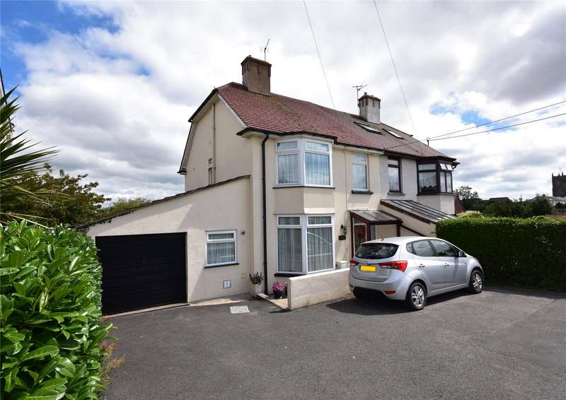 3 Bedrooms Semi Detached House for sale in North Road, South Molton, Devon, EX36
