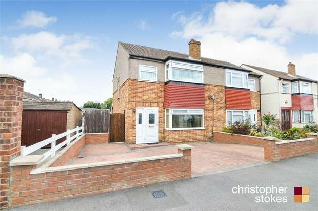 3 Bedrooms Semi Detached House for sale in Gloucester Avenue, WALTHAM CROSS, Hertfordshire