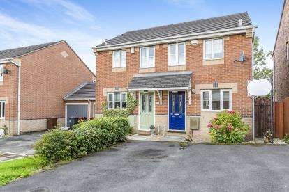 2 Bedrooms Semi Detached House for sale in Williams Drive, Whinney Heights, Blackburn, Lancashire