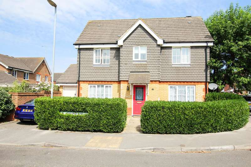 3 Bedrooms Detached House for sale in Byford Way, Leighton Buzzard