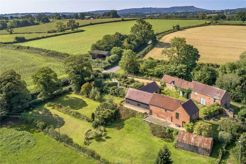 5 Bedrooms Barn Conversion Character Property for sale in Wrickton House, Wrickton, Nr Cleobury North, Shropshire, WV16
