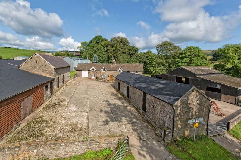 4 Bedrooms Detached House for sale in Brook House, Newcastle, Clun, Shropshire, SY7