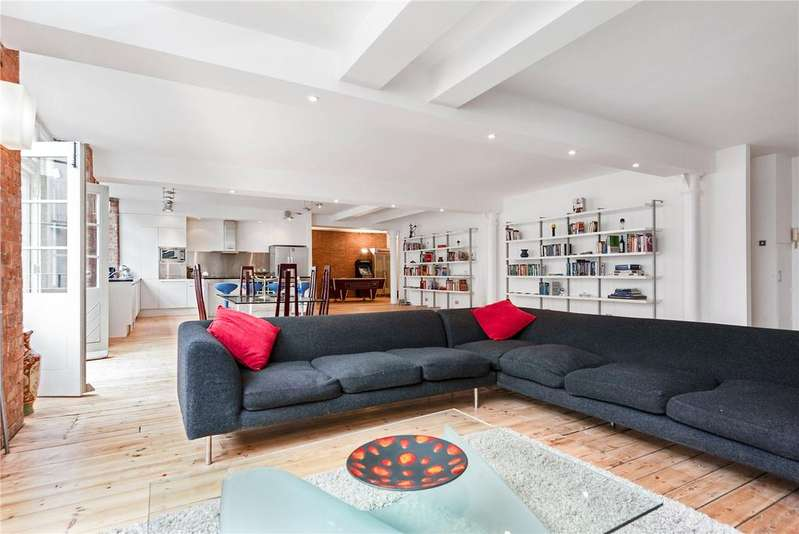 3 Bedrooms Flat for sale in Underwood Street, Old Street, London, N1