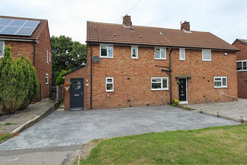 3 Bedrooms Semi Detached House for sale in Salisbury Avenue, Chesterfield