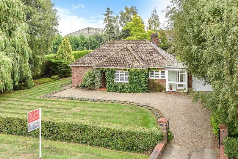 3 Bedrooms Detached Bungalow for sale in Folkingham Road, Billingborough, NG34
