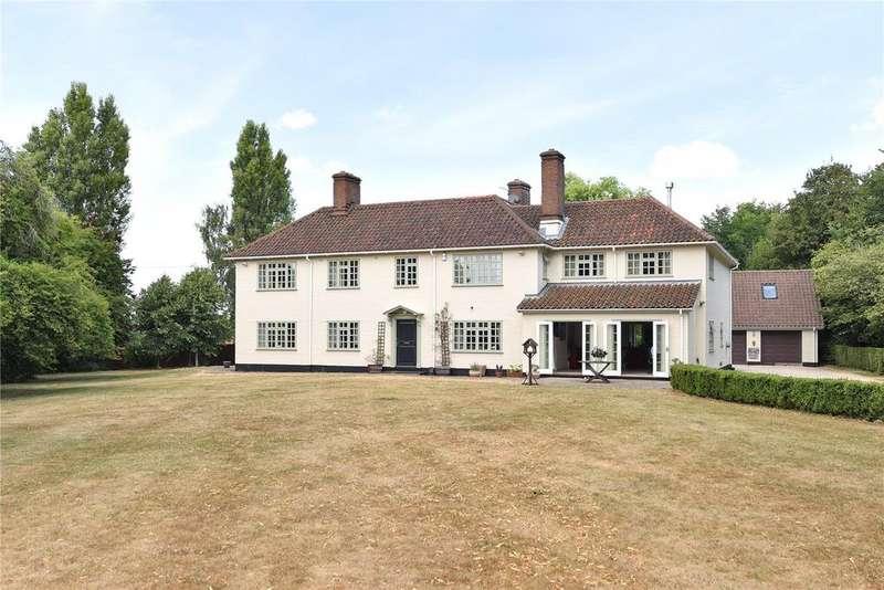 6 Bedrooms Detached House for sale in Little Whelnetham, Bury St Edmunds, Suffolk, IP30